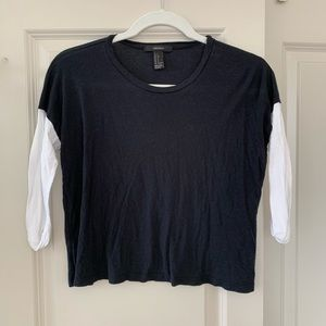 Forever 21 | 3/4 Sleeve Top